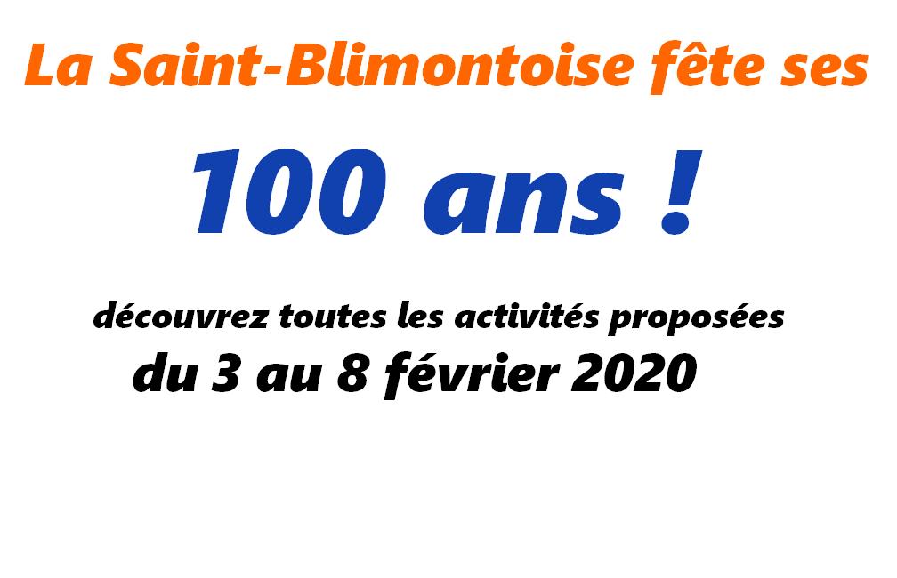 Centenaire de l'AAE - La Saint-Blimontoise