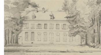 Château d'Elincourt vers 1860