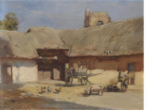 Cour de ferme à Saint-Blimont - Rudolf Ribarz