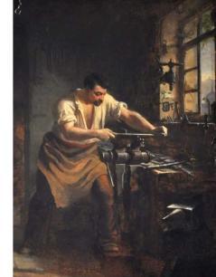 L'atelier de serrurerie - Louis Mallaval