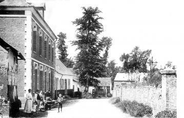 Usine Pénel - rue de l'Abreuvoir (vers 1900)